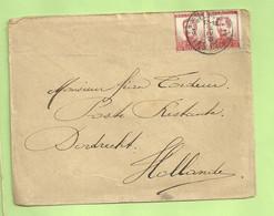 Lettre D'un Soldat Belge Postes Militaires 1915 Vers Célèbre Passeur Tordeur à DORDRECHT (B9335) - Belgisch Leger