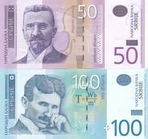 50 And 100 Dinara !!! UNC Serbia - Serbia