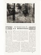 Les Derniers Jours De La Bedoyere /  Article,  Pris D`un Magazine / 1910/1911 - Unclassified