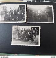 Fait à ??je N'arrive Pas à Lire L'endroit Le 17 Octobre 1939 Souvenir De La Guerre France. ??? 3 PHOTOS DE MILITAIRES - Characters