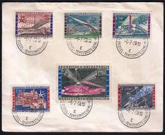 Belgium 1958 / World Exhibition In Bruxelles / Benelux, Congo, Ruanda Urundi, Atomium, TELEXPO - 1958 – Bruselas (Bélgica)