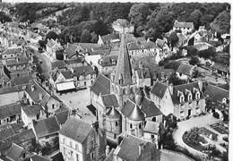 En Avion Au Dessus De Cinq Mars La Pile - Eglise Et Le Prieuré - Sonstige Gemeinden
