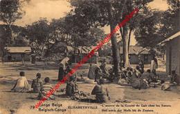 Elisabethville - L'œuvre De La Goutte De Lait Chez Les Soeurs - Congo Belge - Belgisch-Kongo - Sonstige