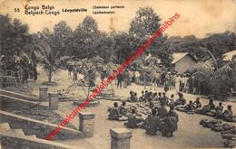 Léopoldville - Chamaux Porteurs Lastkameelen - Congo Belge - 1913 - Belgisch-Kongo - Sonstige