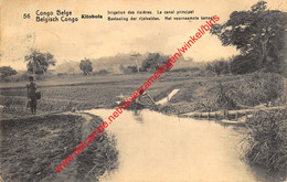Kitobola - Irrigation Des Rizières - Le Canal Principal - 1914 - Congo Belge - Belgisch-Kongo - Sonstige