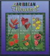 Saint Christophe Fleurs Flowers Strelitzia Reginae  MNH - Andere