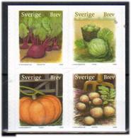 Sweden 2008  Authmn Harvest - Beetroot,White Cabbage, Pumpkin, Potatoes, Mi 2654-2657 - MNH(**) - Ongebruikt