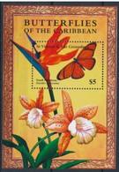 Saint Vincent Grenadines  Fleurs Flowers Strelitzia Reginae  MNH - Andere