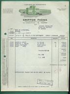 42 Roanne Griffon Frères Fabrique De Bonneterie 19 08 1970 - Textilos & Vestidos