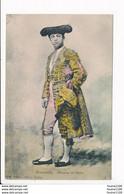 Carte ( Corrida ) MATADOR DE TOROS REVERTITO ( Peu Courante Colorisée ) Villatte éditeur à TARBES ( Recto Verso ) - Tarbes