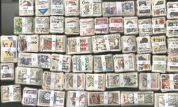 Tchécoslovaquie : 4000 Timbres Oblitérés En Bottes Par Multiples De 10 - Kilowaar (min. 1000 Zegels)