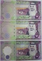 Saudi Arabia 5 Riyals 2016,2017,2020 P-38 A,b,c 10 Pieces Of Each Date UNC - Saudi Arabia