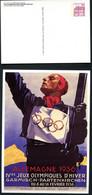 OLYMPIC GAMES 1936 Germany STO Postal Card PP106 B2/013 Garmisch-Partenkirchen 1986 - Summer 1936: Berlin