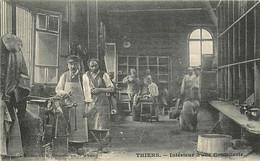 63 , THIERS , Inteieur D'usine De Coutellerie , CF * 341 78 - Thiers