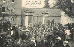 19 , USSEL , Palais De Justice Affaire Du Chef De St Martin De Soudeilles , CF * 342 21 - Ussel