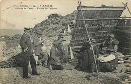 19 , ALLASSAC , Groupe De Carriers , L'heure Du Dejeuner, CF * 342 59 - Other Municipalities