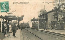 43 , DARSAC , La Gare , Passage De Trains Pour Le Puy , CF * 344 90 - Otros Municipios