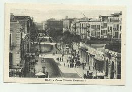 BARI - CORSO VITTORIO EMANUELE 1931  VIAGGIATA FP - Bari