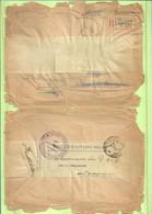 """Brief Aangetekend PMB Naar """"Fecamp"""",herverzonden Stempel TROUPES AUXILIAIRES Du GENIE/GROUPEMENT/PMB 4 30/9/18 (GR1406) - Belgisch Leger"""