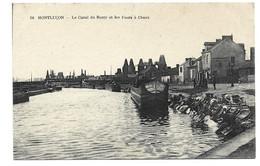 03 Montluçon Canal Du Berry Et Fours à Chaux Rare Et Unique Sur Delcampe - Montlucon
