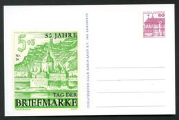 Bund PP106 B2/033 TAG DER BRIEFMAKE Briefmarke DR 753 Koblenz 1986 - Private Postcards - Mint