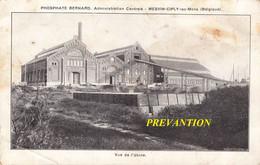 Phosphate Bernard, Administration Centrale / Mesvin-Ciply-lez-MONS (Belgique) - Vue De L'Usine - Mons