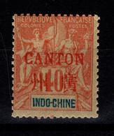 Canton - YV 12 N* (propre) Trés Frais - Unused Stamps