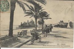 06- NICE -jetée-Promenade Entre Les Palmiers -tricycle - Calèches - Other