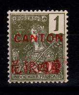 Canton - YV 33 N** - Unused Stamps