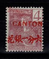 Canton - YV 35 N* (legere) - Unused Stamps