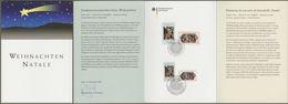 "Bund Vatikan: Ministerkarte, Mi-Nr. 2703-04: "" Albrecht Dürer - Weihnachten "" ; Joint Issue Gemeinschaftsausgabe R X - Storia Postale"