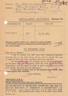 Palestine 1945: Letter Jerusalem To Teheran, British Censor, Instalment Account - Palestine