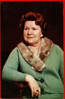 00603 Nina Sazonov RSFSR People's Artist Of Fur Actor Actress Artist Cinema Actor Actress Film 1970 USSR Soviet Card - Acteurs