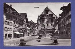 ZUG 1959 Kolinplatz Hotel Ochsen : état: Trés Très Bon :  V849 - ZG Zug