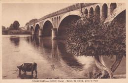 COURCELLES-sur-SEINE ,bords De Seine ,prés Le Pont - Altri Comuni