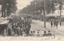(DU 02) GIRONDE , BORDEAUX , L' Avenue THIERS - Bordeaux