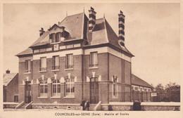 COURCELLES-sur-SEINE , MAIRIE Et ECOLES - Altri Comuni