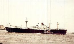 """PHOTO Bateau  """" Troarn  """" C.G.T Compagnie Générale Transatlantique 1943 New Orléans Liberty - Boats"""