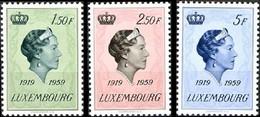 559/561** - 40e Anniv De L'avènement De La Grande-duchesse / 40e Verjaardag Van De Komst Van De Groothertogin Charlotte - Case Reali