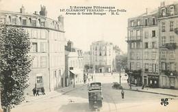 63 , CLERMONT FD , Place Delille , Av De Grande Bretagne ( Tramway ) , * 359 96 - Clermont Ferrand