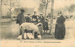 03 , VICHY , Champ De Foire , Paysans Bourbonnais , CF2 * 361 48 - Vichy