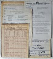 Er1.f- Paquebot TAAF ACH MARION DUFRESNE 1973 Messageries Maritimes Ateliers ACH Havre Moteurs Diesel SEMT Pielstick - Non Classificati