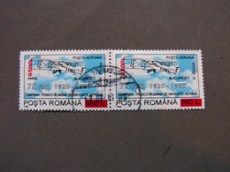 Rumänien  2001  Flugpost 5428  Kaum Zu Finden Bedarf - Usado