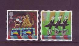 Gran Bretagna 2001 - Europa, Il Circo, 2v MNH** Integri - Unused Stamps
