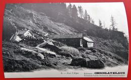 Cpa Suisse 25 MORTEAU Chocolat KLAUS Sur L'Alpe - Altri