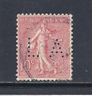 Y & T  N°  129    Perforé   L A  9   Ind  7  (26§07) - Gezähnt (Perforiert/Gezähnt)