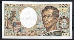 490-France 200fr 1991 V087 - 200 F 1981-1994 ''Montesquieu''