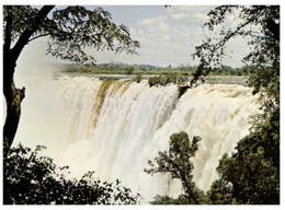 (OO 2) Zimbabwe - The Eastern Cataract In Flood - Victoria Falls - Zimbabwe