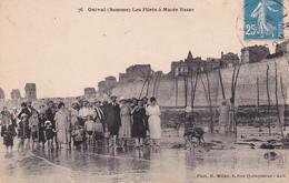 80 -- Onival -- Les Filets à Marée Basse --- 3738 - Onival