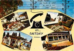 92 - Antony - Multivues - Piscine - CPM - Voir Scans Recto-Verso - Antony